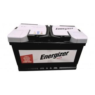 Аккумулятор 6СТ-80 ENERGIZER AGM  AGM  Обратная полярность