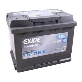 Аккумулятор 6CT-61 EXIDE  PREMIUM EA601  Обратная полярность