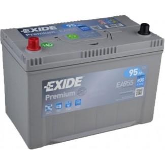 Аккумулятор 6CT-95  EXIDE  Premium Asia EA954  Обратная полярность