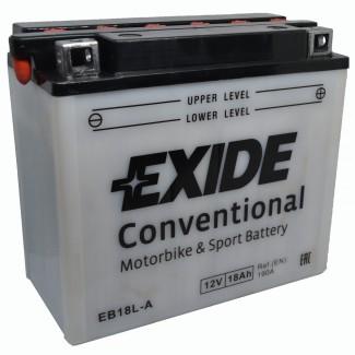 Аккумулятор EXIDE EB18L-A EXIDE  EB18L-A  Обратная полярность