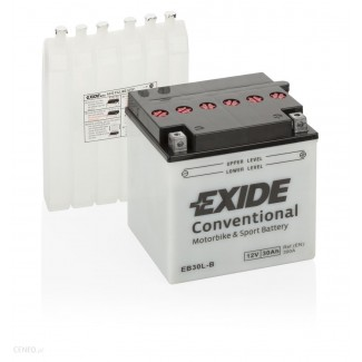 Аккумулятор EXIDE EB30L-B EXIDE  EB30L-B  Обратная полярность