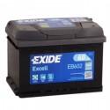 Аккумулятор 6CT-60 EXIDE  Excell EB602  Обратная полярность