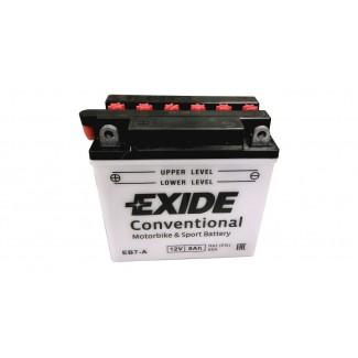 Аккумулятор EXIDE EB7-A EXIDE  EB7-A  Обратная полярность
