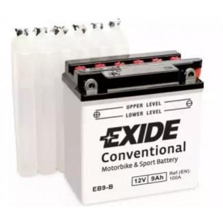 Аккумулятор EXIDE EB9-B EXIDE  EB9-B  Обратная полярность