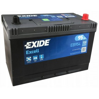 Аккумулятор 6CT-95  EXIDE  Excell Asia EB955  Прямая полярность