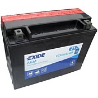 Аккумулятор EXIDE ETX24HL-BS EXIDE AGM  ETX24HL-BS  Обратная полярность