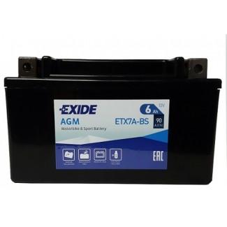 Аккумулятор EXIDE ETX7A-BS EXIDE AGM  ETX7A-BS  Обратная полярность