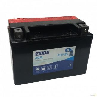 Аккумулятор EXIDE ETX9-BS EXIDE AGM  ETX9-BS  Обратная полярность