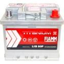 Аккумулятор 6СТ-50 FIAMM  Titanium Pro низкий  Обратная полярность