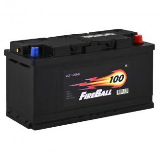 Аккумулятор 6СТ-100 FIRE BALL  Курский аккумулятор  Прямая полярность