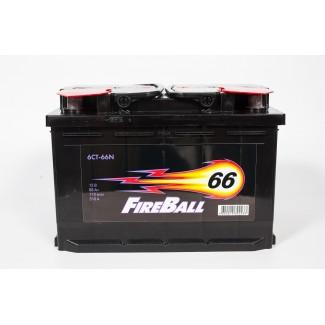 Аккумулятор 6СТ-66 FIRE BALL  Курский аккумулятор  Прямая полярность