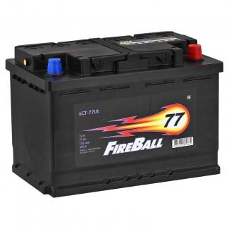 Аккумулятор 6СТ-77 FIRE BALL  Курский аккумулятор  Обратная полярность