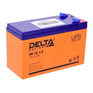 Аккумулятор HR 12-7.2 Delta    Прямая полярность