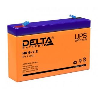 Аккумулятор HR 6-7.2 Delta     полярность