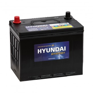 Аккумулятор 6СТ-80 HYUNDAI  Азия  Обратная полярность