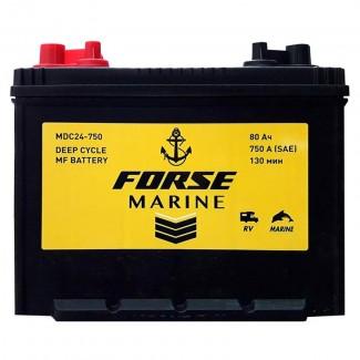 Аккумулятор 6CT-80 FORSE Marine    Прямая полярность