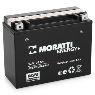 Аккумулятор 12V24 MORATTI  MEP12Х24H  YTX24HL-BS    Обратная полярность