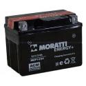 Аккумулятор 12V3 MORATTI  MEP12Х4  YTX4L-BS    Обратная полярность