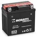Аккумулятор 12V4 MORATTI  MEP12Х5  YTX5L-BS    Обратная полярность