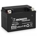 Аккумулятор 12V8 MORATTI  MEP12Х9  YTX9-BS    Прямая полярность