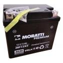 Аккумулятор 12V5 MORATTI  MP12Х5  YTX5L-BS    Обратная полярность