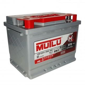 Аккумулятор 6CT-63   MUTLU  SFB  Обратная полярность