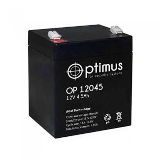 Аккумулятор ОР 12045 Optimus    Прямая полярность