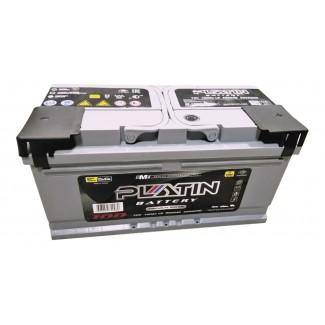 Аккумулятор 6СТ-100 PLATIN  SILVER (низкий)  Обратная полярность