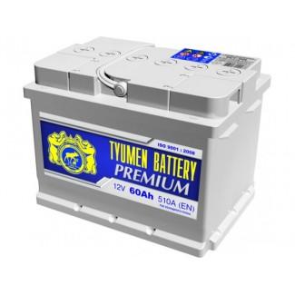 Аккумулятор 6СТ-60 Премиум  Тюменский АЗ  Обратная полярность