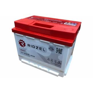 Аккумулятор 6CT-60   RIDZEL    Обратная полярность
