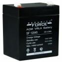 Аккумулятор SF12045 Security Force    Прямая полярность