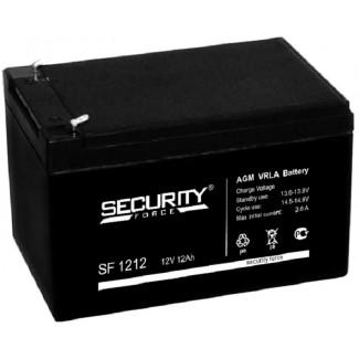Аккумулятор SF1212 Security Force    Прямая полярность