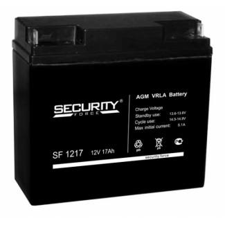 Аккумулятор SF1217 Security Force    Обратная полярность