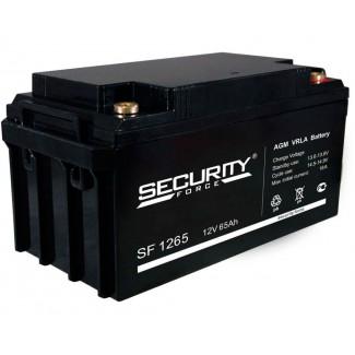 Аккумулятор SF1265 Security Force    Обратная полярность