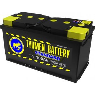 Аккумулятор 6СТ-100  Стандарт  Тюменский АЗ  Обратная полярность