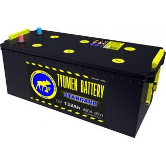 Аккумулятор 6СТ-132  Стандарт  Тюменский АЗ  Прямая полярность