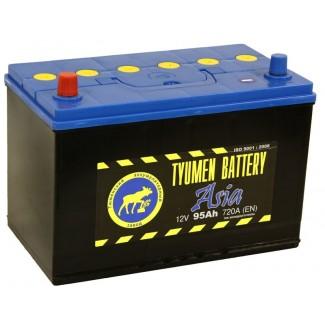 Аккумулятор 6СТ-95  Азия  Тюменский АЗ  Прямая полярность
