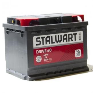 Аккумулятор 6СТ-60 STALWART    Прямая полярность