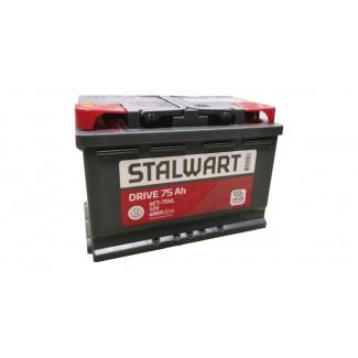 Аккумулятор 6СТ-75 STALWART    Прямая полярность