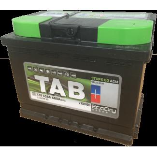 Аккумулятор 6CT-60 TAB  Eco Dry AGM  Обратная полярность