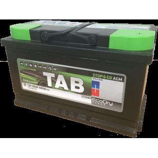 Аккумулятор 6CT-80 TAB  Eco Dry AGM  Обратная полярность