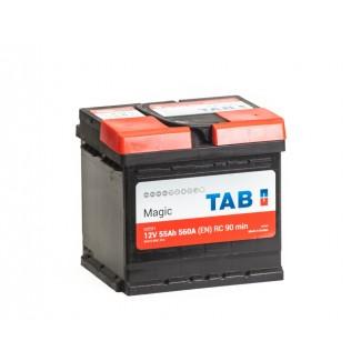 Аккумулятор 6СТ-55 TAB  MAGIC uni  Обратная полярность