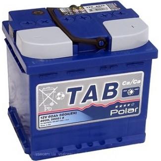 Аккумулятор 6CT-60 TAB  POLAR BLUE uni  Универсальная полярность