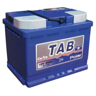 Аккумулятор 6CT-60 TAB  POLAR BLUE  Обратная полярность
