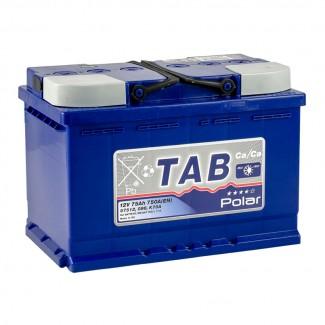 Аккумулятор 6CT-75 TAB  POLAR BLUE  Обратная полярность