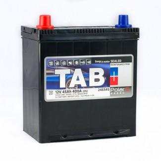 Аккумулятор 6CT-45     TAB  POLAR JIS  Прямая полярность