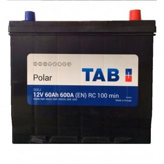 Аккумулятор 6CT-60 TAB  POLAR JIS  Обратная полярность
