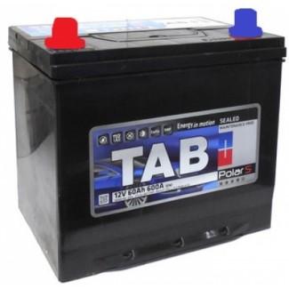 Аккумулятор 6CT-60 TAB  POLAR JIS  Прямая полярность
