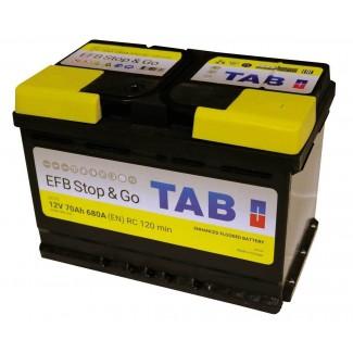 Аккумулятор 6CT-70 TAB  StartStop  Обратная полярность