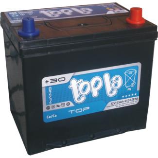 Аккумулятор 6CT-65     TOPLA  Asia Top  Прямая полярность